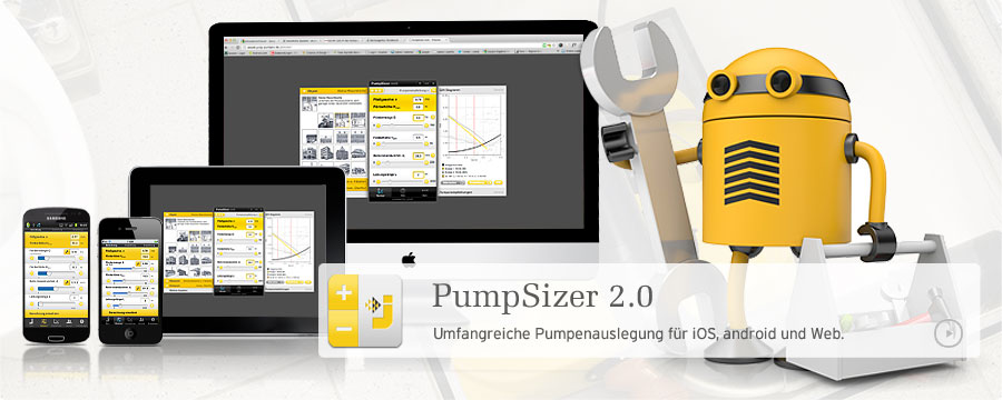 JUNG PUMPEN PumpSizer